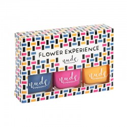 Nude Experience - Flower experience - Kit Vernis - Coffret vernis - pack vernis