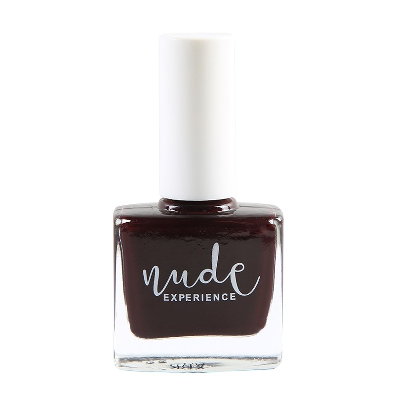 Red-Black nail lacquer, made in France, natural & vegan