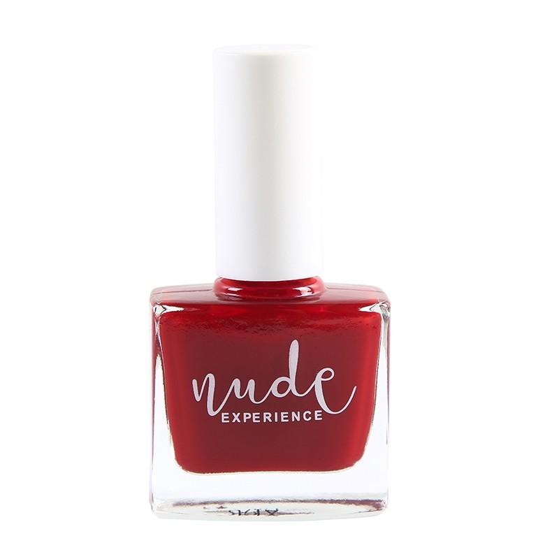 Nude Experience - Vernis Due Torri rouge -  6 free Vegan