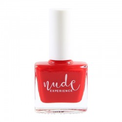 Nude Experience - Vernis rouge Pharaon - coquelicot - 6 free Vegan