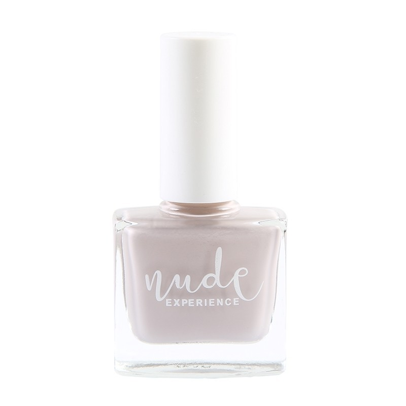 Nude Experience - Boccador - Vernis nude gris rosé - vernis 6 free - Vegan