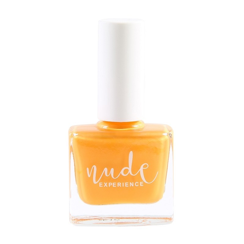 Nude Experience - Encanto - Vernis jaune safran - Jaune moutarde - mimosa - vernis 6 free Vegan