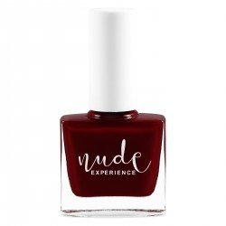 Nude Experience - Tango - Vernis Rouge noir - free formula Vegan made in france