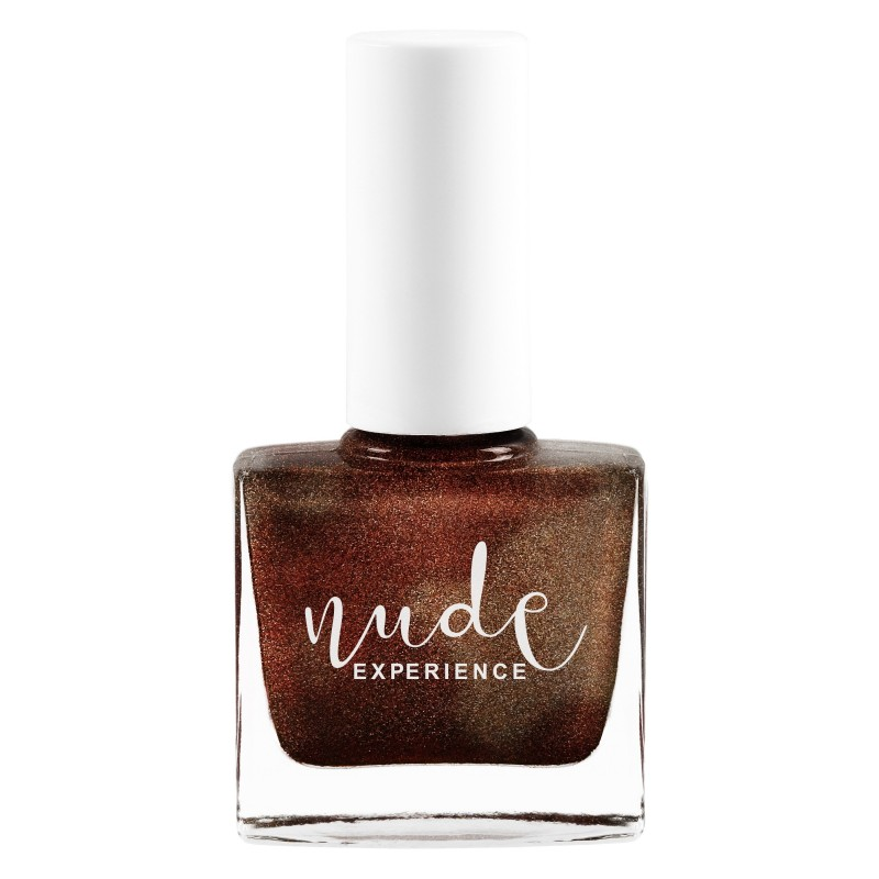 Nude Experience - Bucket - Bronze Maroon Nails Lacquer - 6 free Vegan