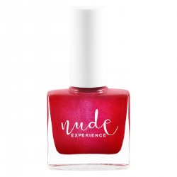 Nude Experience - Oz - Pearly Red Nails Lacquer - 6 free Vegan