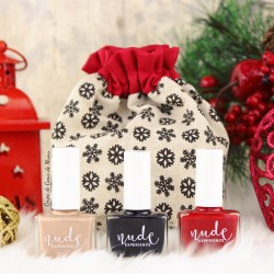 Nude Experience - My snow day - Nails lacquer pouch - present - gift