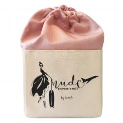 Nude Experience - My Journey - pochon vernis - idée cadeau - tissu bio - coffret cadeau