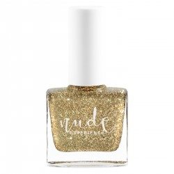 Nude Experience - Vénus - glitters nails polish Peel Off - 12 Free - Made in France