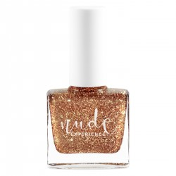 Nude Experience - Metis - Glitter nails polish - 12 Free - Made in France