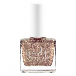 Héra nude experience glitters nails polish peel off vegan free formula Made in france