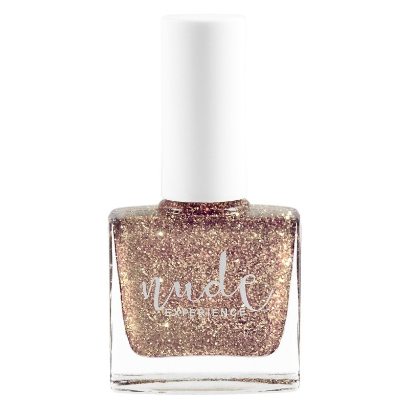 Glitter nail lacquer peel off
