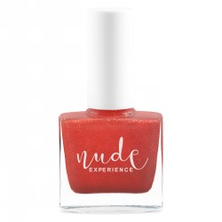 Nude Experience - Nails Lacquer 6 Free - Made in France - Pearly Orange
