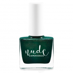Nude Experience farfaraway free formula vernis à ongles vert nacré vegan made in france