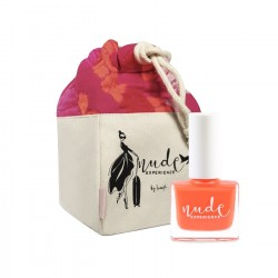 My little journey Nude experience gift ideas pouch and nails polish made in france
