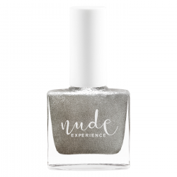 Silver nail lacquer