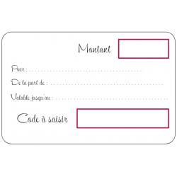 40€ Gift Voucher