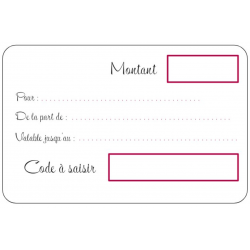 80€ Gift Voucher