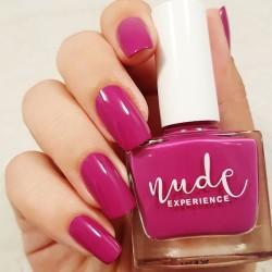 Manucure violet-fuchsia