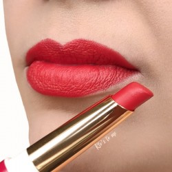 Swatch lèvres rouge