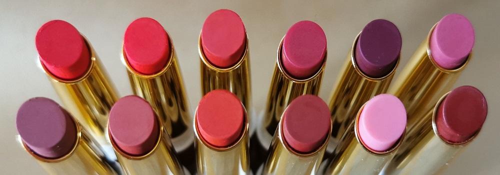 Gamme de rouges à lèvres