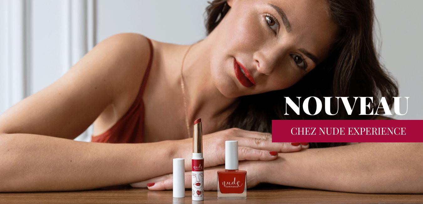 Nouveautés gamme de rouge à lèvres naturels, végans et éthiques